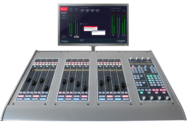 Integra Production and On-Air Consoles